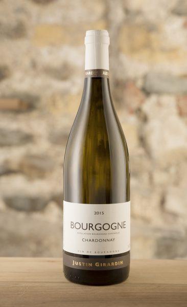 Bourgogne Chardonnay, Justin Girardin, Burgund Wein