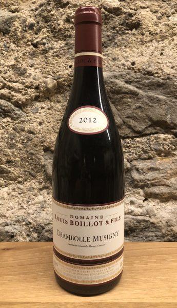 Louis Boillot, Chambolle Musigny, Burgund Wein